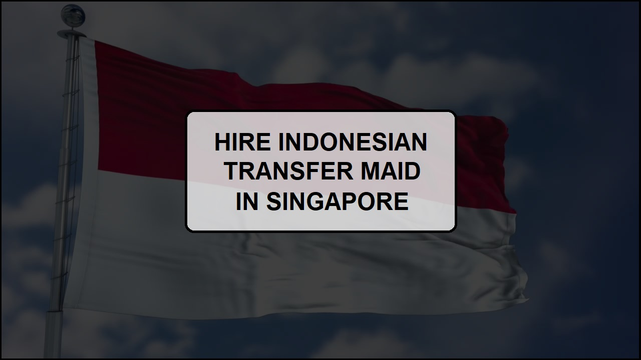 Hiring an Indonesian Transfer Maid in Singapore
